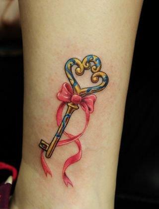 钥匙纹身图案的寓意